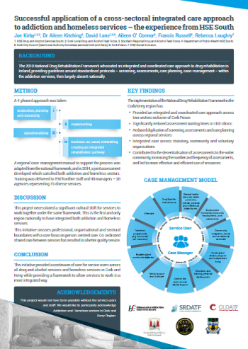 Integrated Care Presentation Poster - HSE South